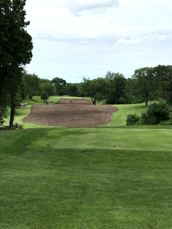Tee Complex - Before at Bracketts Crossing Country Club