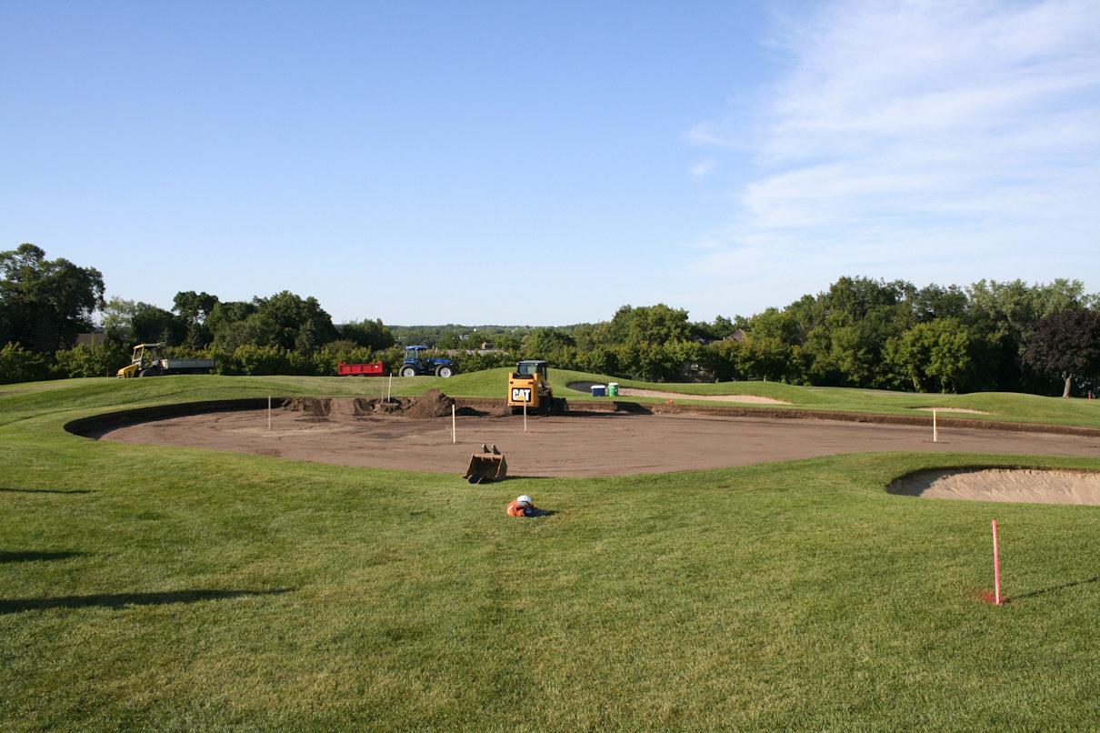 Hazeltine National Golf Club drainage