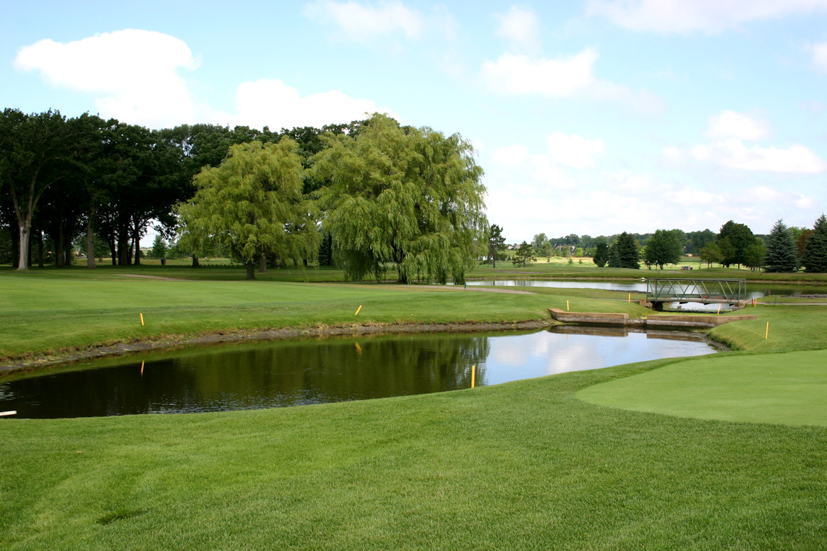 original bridge at Medina Golf and Country Club