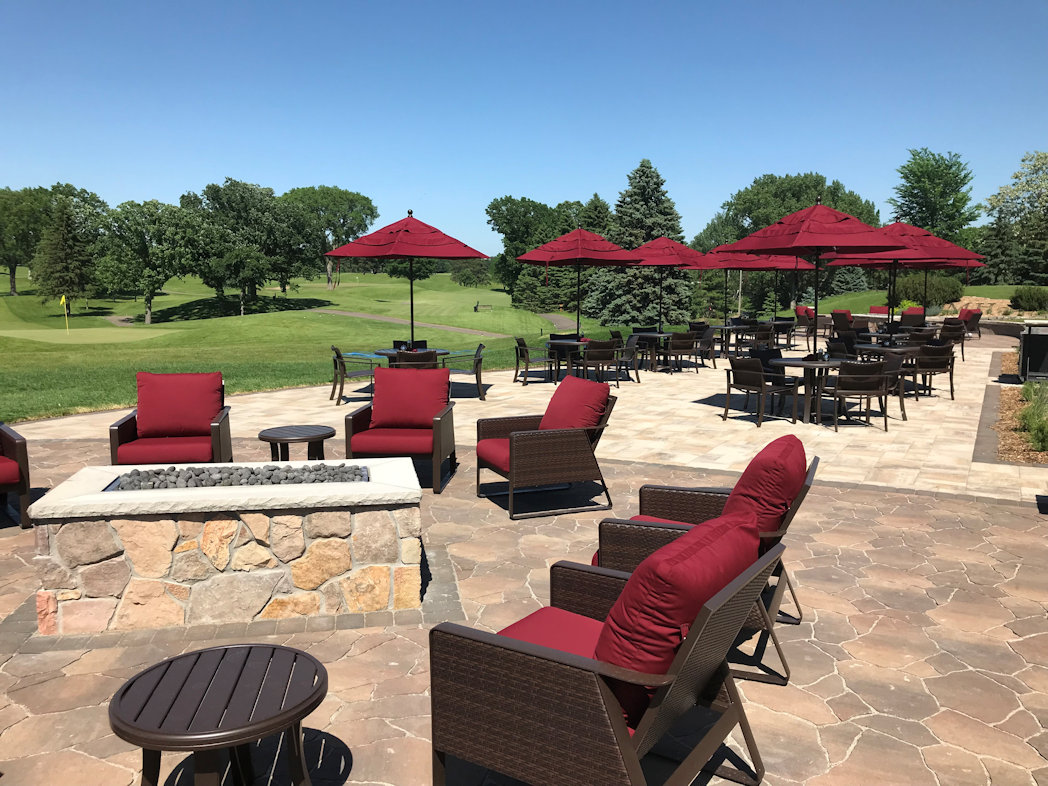 patio at Midland Hills Country Club