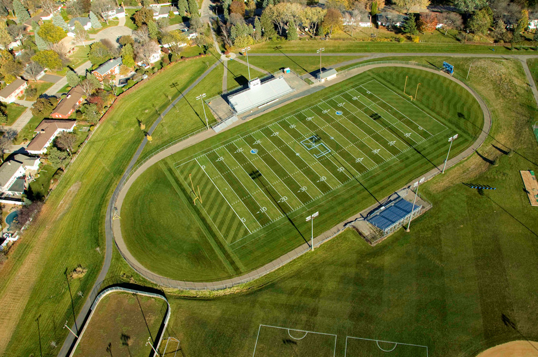 Completed St. Anthony football field renovation