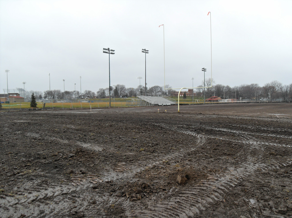 St. Anthony football field renovation sub grade services